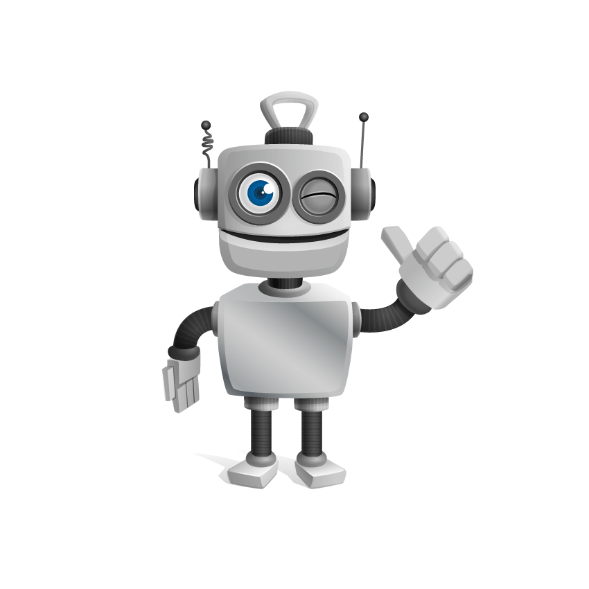 Thingaly_Robot_Vector_Character_with_Thumbs_Up